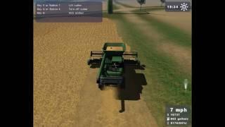 Landwirtschafts Simulator 2009 - Test : Kombajn Fendt