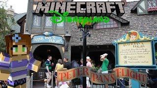 Minecraft Disneyland! Peter Pan