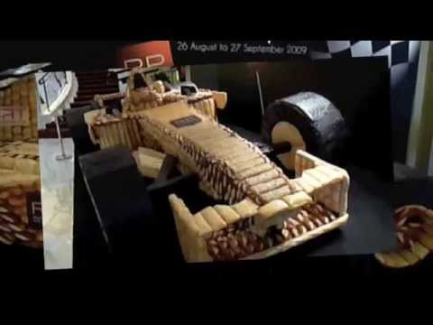 Asia's First Life-Sized Bread Race Car F1 2009