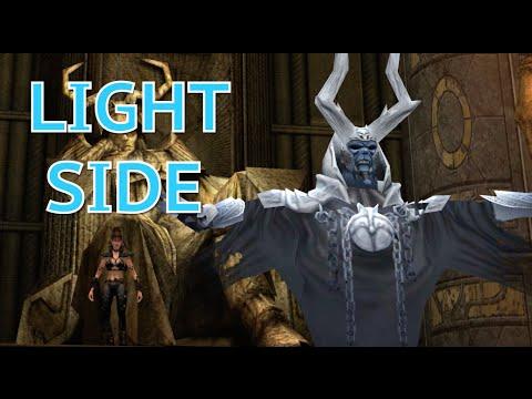 Jedi Knight: Jedi Academy Walkthrough Part 29 -Korriban Tombs (Kor2) Light Side Ending (PC HD 60FPS) |