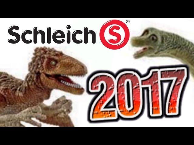Schleich || 2017 Dinosaurs REVEALED! || Part 1
