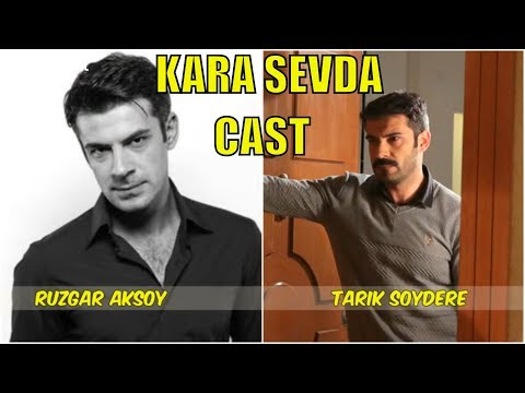 Kara Sevda Actors Real Names - SEASON 1 - YouTube