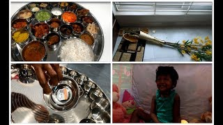 Saturday and sunday vlog/Biggest nonveg thali making video/How i planned and prepared