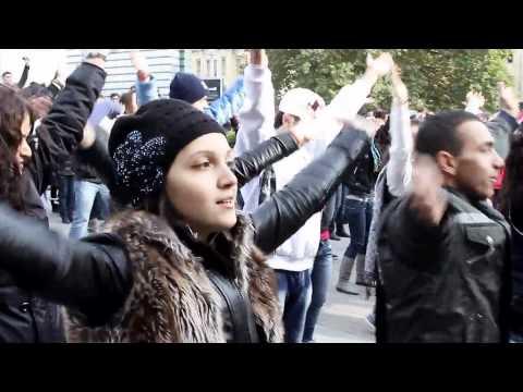 Christian flash mob