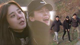 박은혜, 자살하려는 박태인 막아 체포 성공! @달콤한 원수 121회 20171128