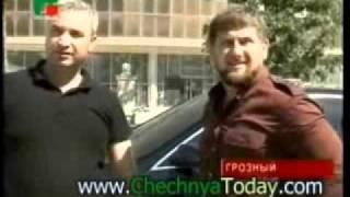 Сентябрь 2011 Рамзан Кадыров инспекционная поездка