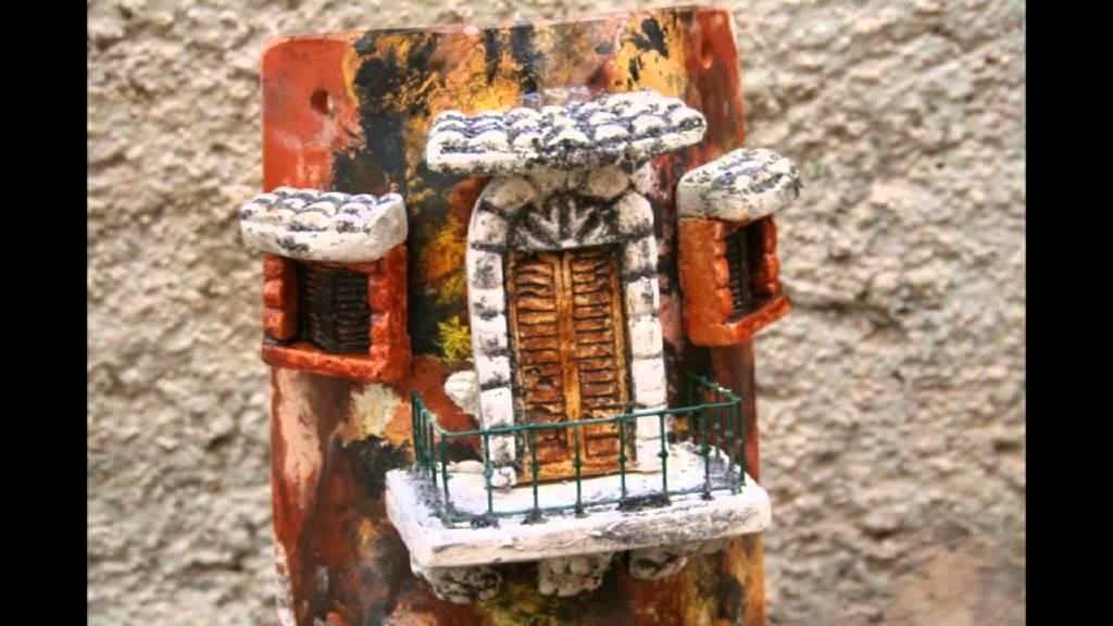Tegole artigianali 3d youtube - Tegole decorate in rilievo ...