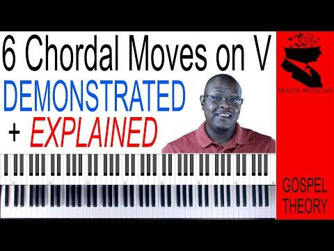 6 Cool CHORDAL MOVES on the V (Dominant 7) Chord! | Demonstrated and Explained
