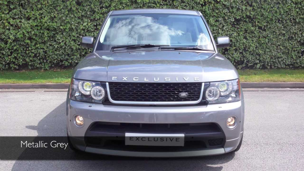 Range Rover Autobiography 2010 >> Exclusive Cars (GB) - Land Rover Range Rover Sport Autobiography - Metallic Grey - YouTube