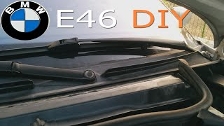 E46 replacing windshield cowl