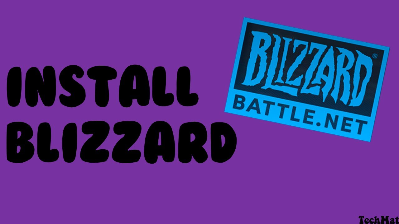 How to Install Blizzard on PC (2021)
