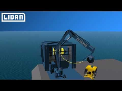 Crane based Launch and Recovery System (LARS)