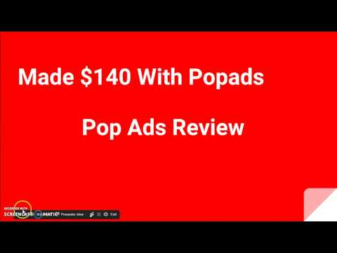 Popads Review and Tutorial 2017