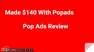 Popads Review and Tutorial 2018 thumbnail