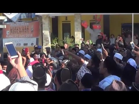 Protes Rekapitulasi Penghitungan Suara Berujung Ricuh
