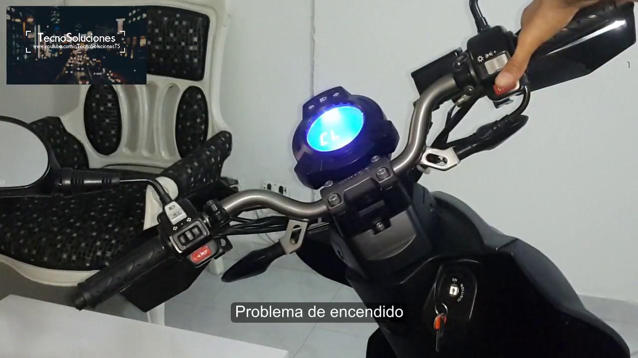 moto scooter no enciende