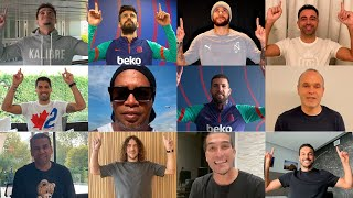 BARÇA TEAMMATES PAY TRIBUTE TO LEO MESSI