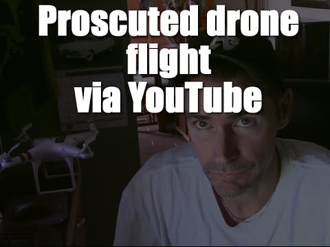 I was prosecuted for a drone flight by the National Park Service via YouTube.