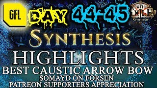 Path of Exile 3.6: SYNTHESIS DAY # 44-45 Highlights BEST CAUSTIC ARROW BOW, MIRROR