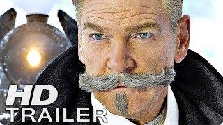 MORD IM ORIENT EXPRESS Trailer 2 Deutsch German (2017)