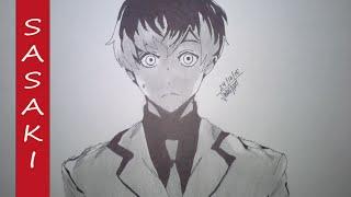 Como dibujar a Sasaki Haise/ How to draw Sasaki Haise