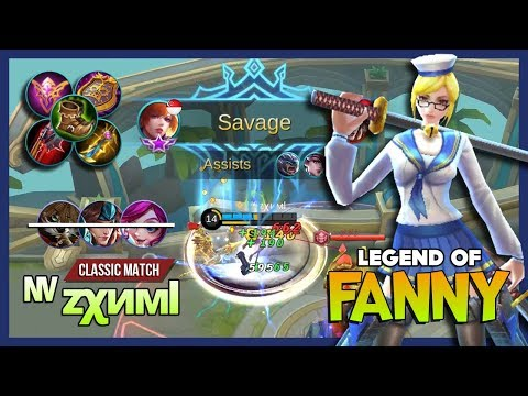Still Doubt Me? Funny Match with Fanny by ᶰᵛ zχимl aka tz·zχuαи Legend of Fanny ~ Mobile Legends