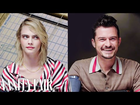 Cara Delevingne and Orlando Bloom Take a Lie Detector Test  | Vanity Fair