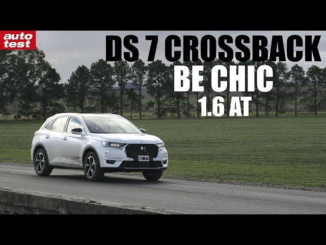 Prueba DS 7 Crossback - AutoTest Argentina
