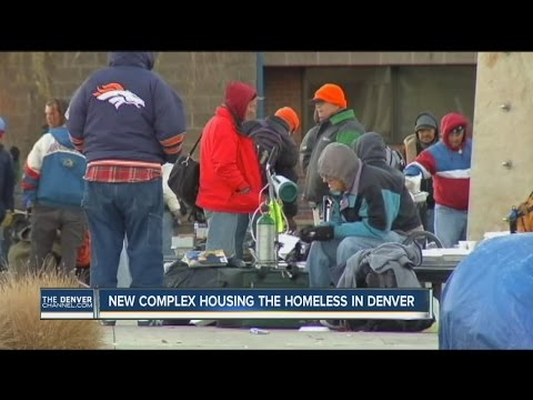 New complex to house the homeless in Denver