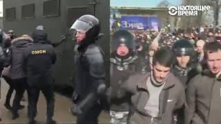 Взгляд независимых и государственных СМИ на протесты