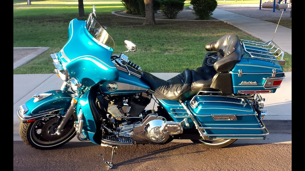 1994 Harley Davidson Electra Glide Ultra Clic Flhtcu 54 832 Miles Fully Loaded You