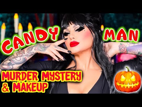 Candy Man - The Man Who Killed Halloween - Mystery & Makeup GRWM | Bailey Sarian thumbnail