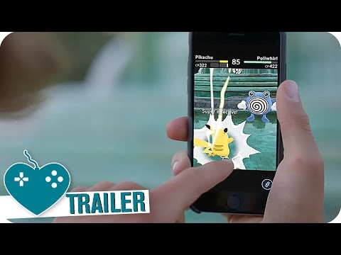 POKEMON GO Launch Trailer (2016) iOS, Android Augmented Reality Game