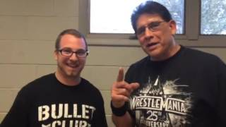 IWF Tito Santana loud and proud interview