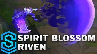 Spirit Blossom Riven Skin Spotlight - Pre-Release - League of Legends