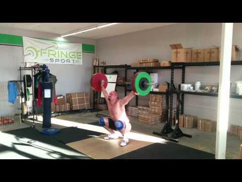 Willie McLendon 101kg Snatch Triple