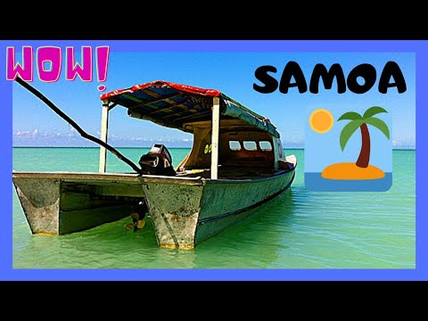 SAMOA, touring the spectacular island of MANONO (PACIFIC OCEAN)