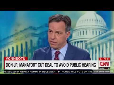 Senator Al Franken on Scaramucci interview with Jake Tapper