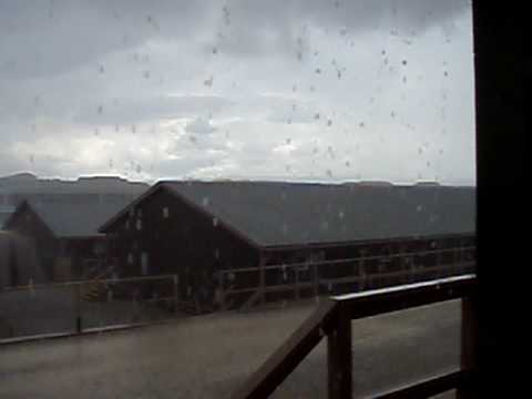 Thunderstorm in Kosovo