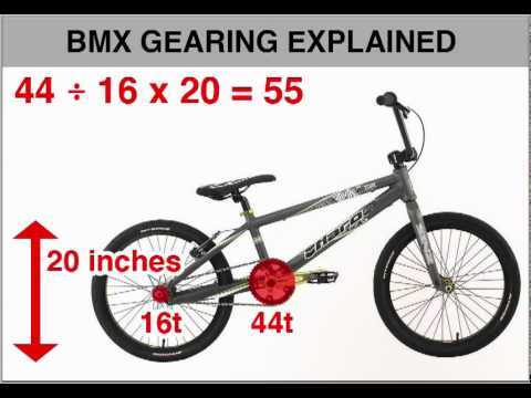 Bmx gearing explained also youtube rh