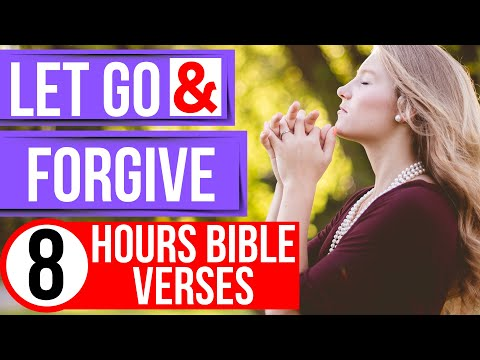 Forgiveness Scriptures (Forgiveness Bible Verses For Sleep With Music)