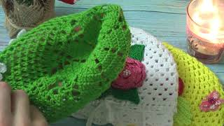 Навязала!  Часть 5. Детские панамки, костюмчики, пинетки, шапочки.