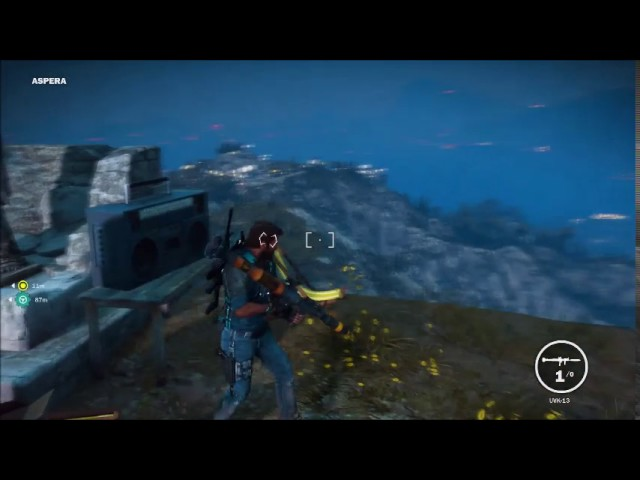 just cause 3 easter egg mile high club theme music/panau reference