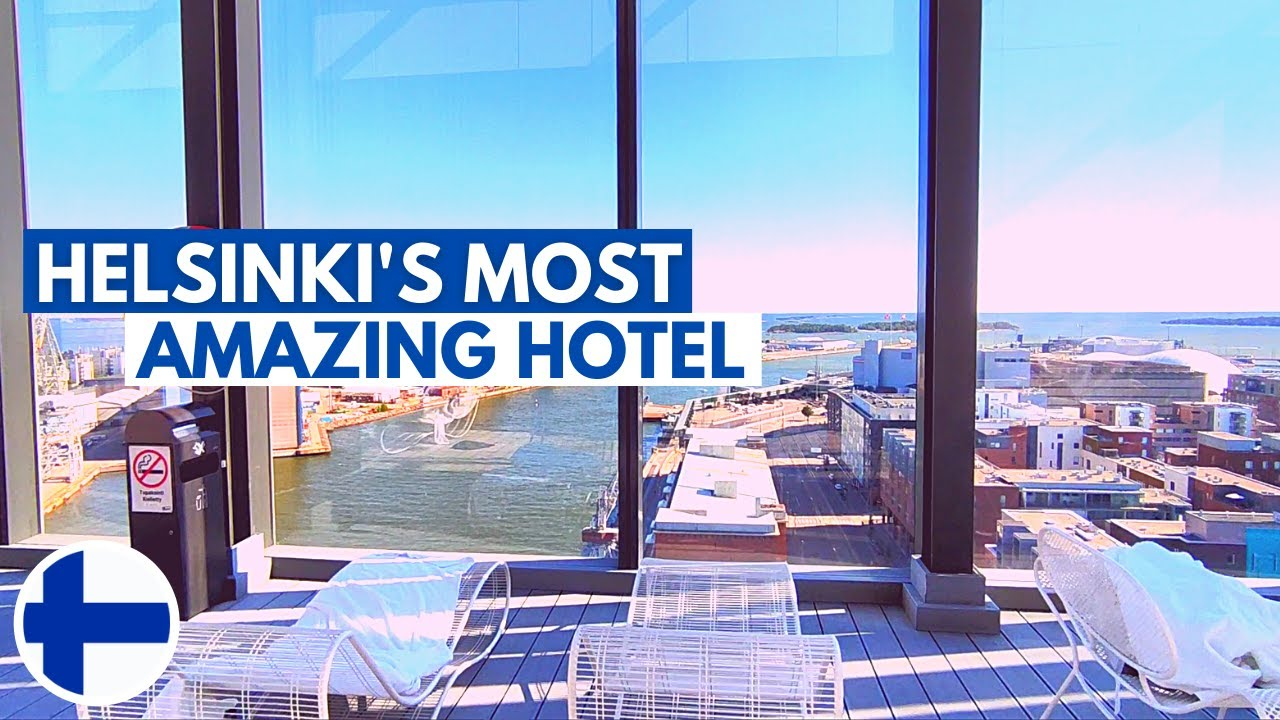 Clarion Hotel [Helsinki, Finland]: Amazing Rooftop Pool With City View | FULL TOUR | เนื้อหาที่เกี่ยวข้องclarion hotel helsinkiที่สมบูรณ์ที่สุด