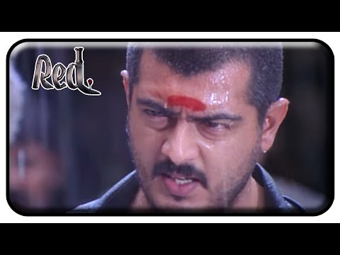 Red Tamil Movie | Scenes | Ajith Fights to Rescue People | Raghuvaran | Deva