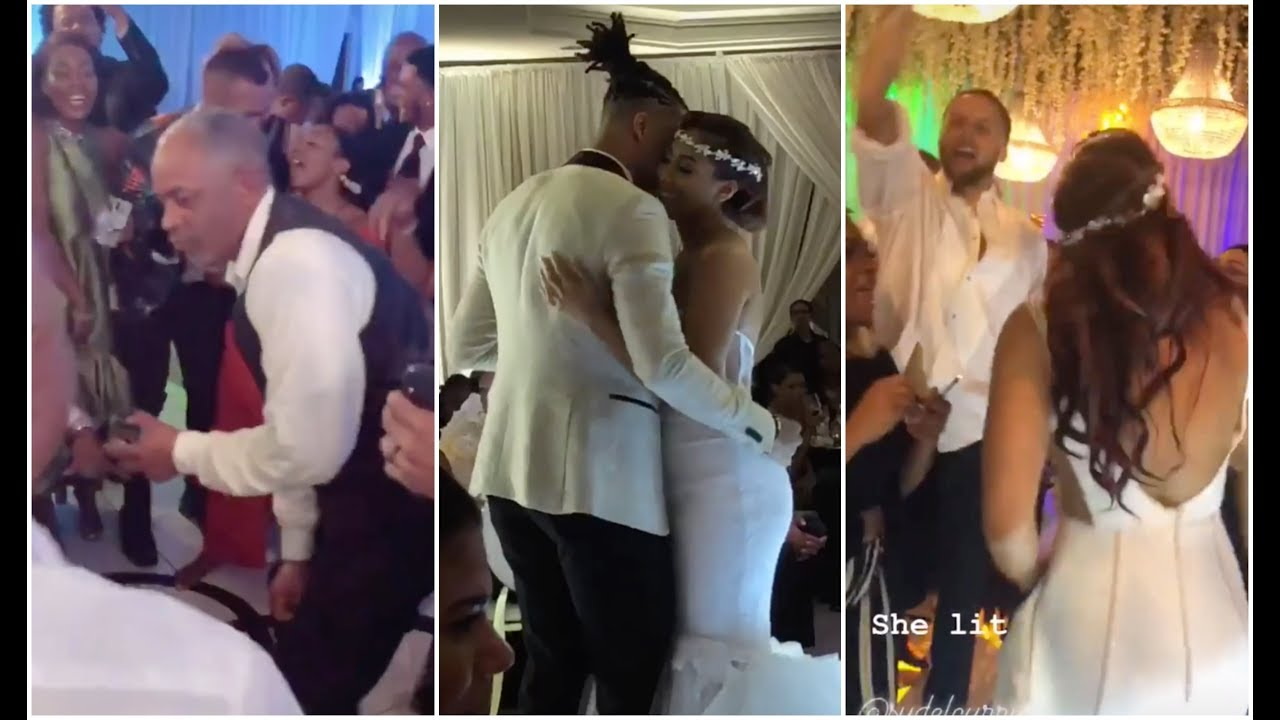 The Currys Get Lit As Sydel Curry Gets Married To The Newest Golden State Warrior Damion Lee Youtube