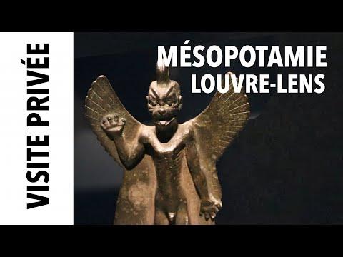 La Mésopotamie au Louvre Lens, visite avec Ariane Thomas, commissaire de l'exposition