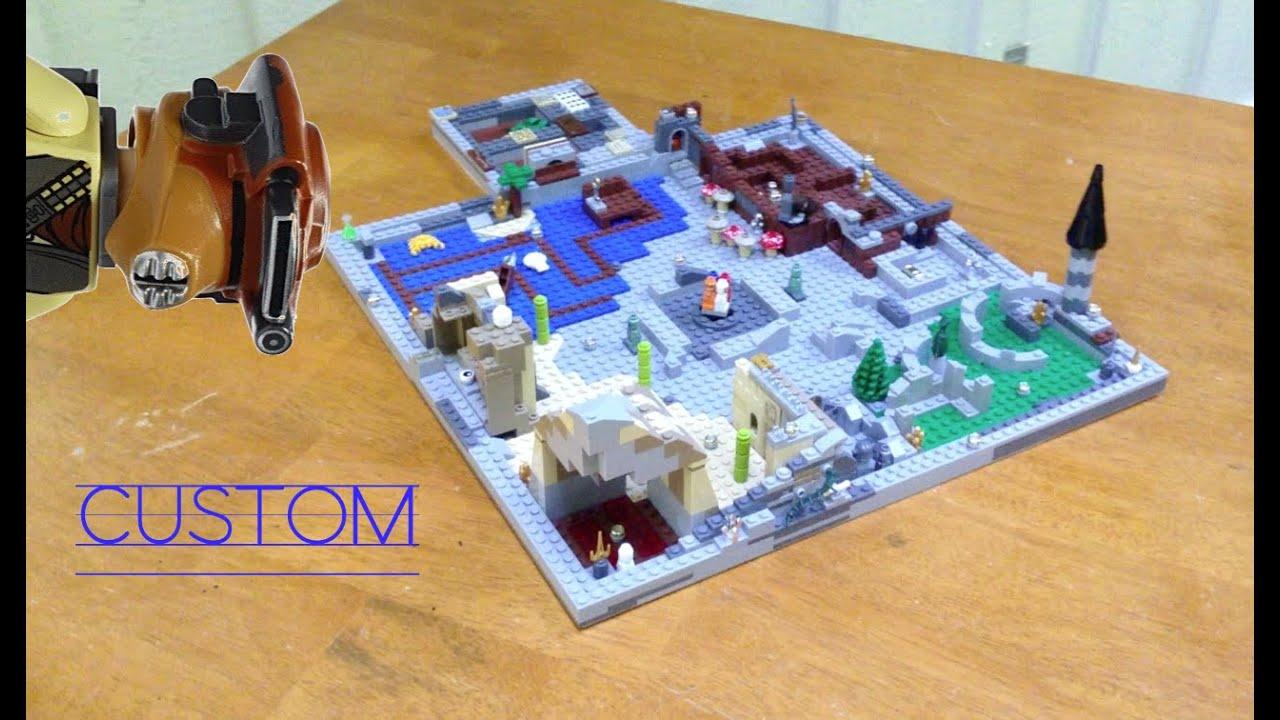 Lego Custom Boardgame Land Of Warriors Instruction Video Youtube