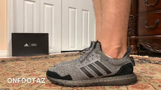 0b1ac70adfca6 ดาวน์โหลดเพลง Adidas Ultra Boost Uncaged Triple Black On Foot หรือ ...