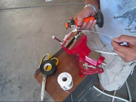 Soldering 0/1 Gauge wire